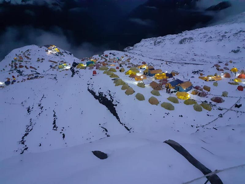 10 teams allowed to climb mountains in winter season