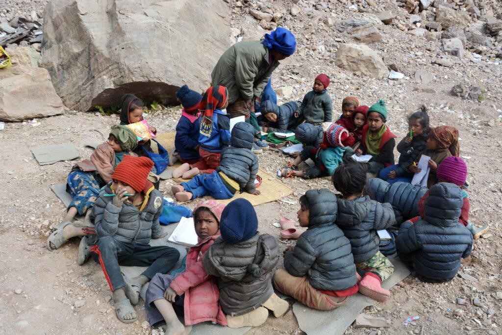 baglung children in school