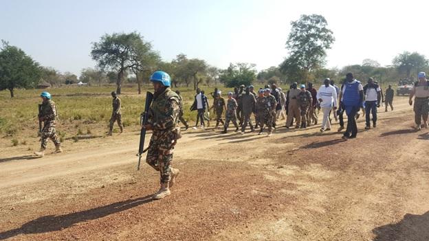 nepal army at South Sudan